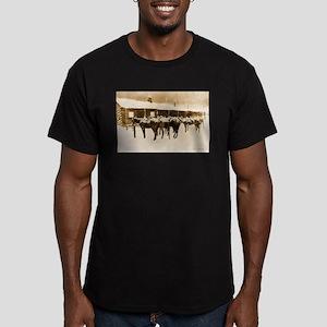 Best Seller Wild West Men's Fitted T-Shirt (dark)