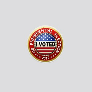 Presidential Election - I voted Mini Button
