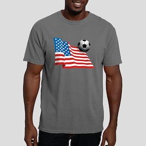 U.S. Soccer Flag Mens Comfort Colors Shirt
