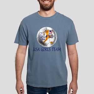 USA Girls Team Mens Comfort Colors Shirt