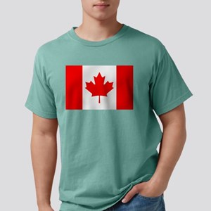 Flag of Canada Mens Comfort Colors Shirt