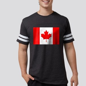 Flag of Canada Mens Football Shirt