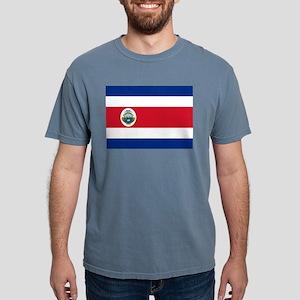 Flag of Costa Rica Mens Comfort Colors Shirt