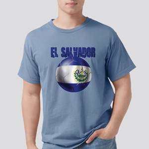 Futbol de El Salvador Mens Comfort Colors Shirt