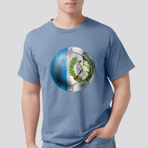Guatemala Soccer Ball Mens Comfort Colors Shirt