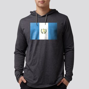 Flag of Guatemala Mens Hooded Shirt