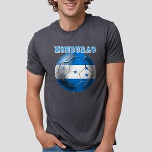 Honduras Soccer Football Mens Tri-blend T-Shirt