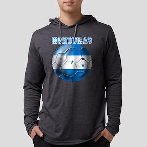 Honduras Soccer Football Mens Hooded Shirt