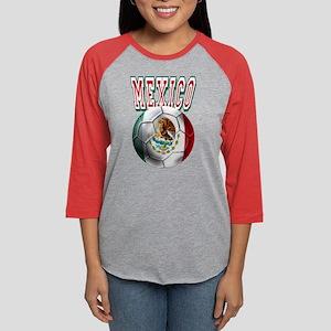 Futbol Mexicano Womens Baseball Tee