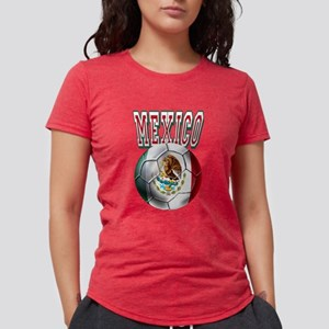 Futbol Mexicano Womens Tri-blend T-Shirt