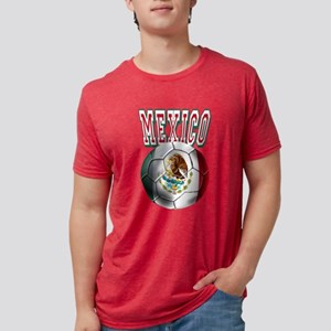 Futbol Mexicano Mens Tri-blend T-Shirt