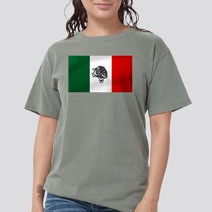 Mexican Soccer Flag Womens Comfort Colors® Shirt