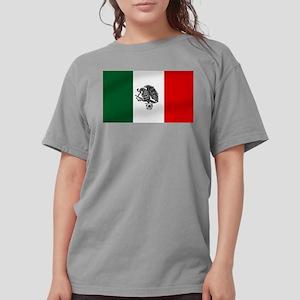 Mexican Soccer Flag Womens Comfort Colors® Shirt