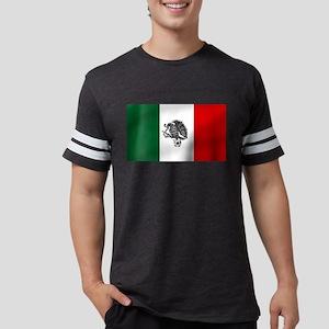 Mexican Soccer Flag Mens Football Shirt
