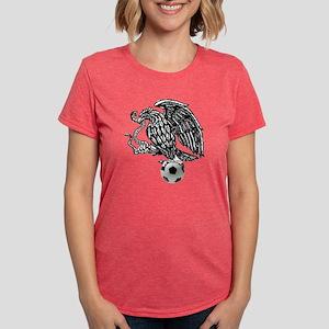 Mexican Football Eagle Womens Tri-blend T-Shirt