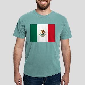 Mexican Flag Mens Comfort Colors Shirt