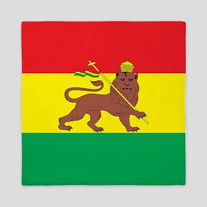 Ethiopia Flag 1897 Queen Duvet