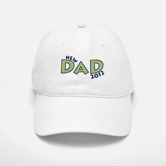 New Dad 2012 Baseball Baseball Cap
