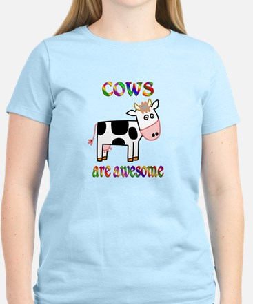 Awesome Cows Women's Light T-Shirt