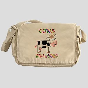 Awesome Cows Messenger Bag