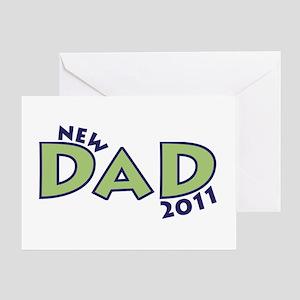 New Dad 2011 Greeting Card