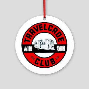 Avion Travelcade Club Roundel Ornament (Round)