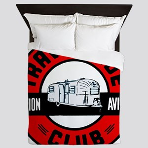 Avion Travelcade Club Roundel Queen Duvet
