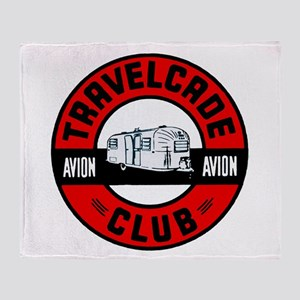 Avion Travelcade Club Roundel Throw Blanket