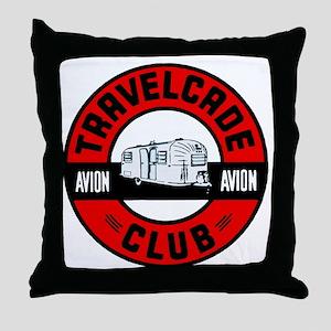 Avion Travelcade Club Roundel Throw Pillow