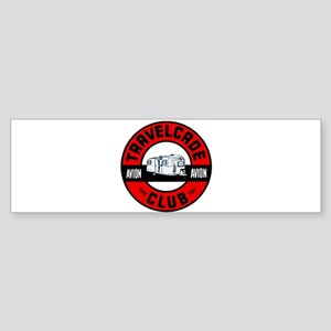 Avion Travelcade Club Roundel Sticker (Bumper)