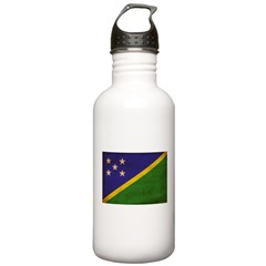 Solomon Islands Flag Water Bottle