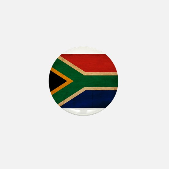 South Africa Flag Mini Button