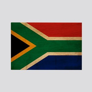 South Africa Flag Rectangle Magnet