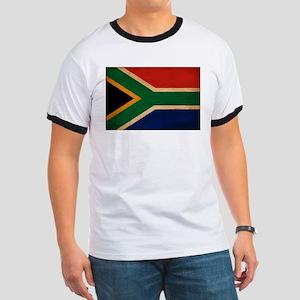South Africa Flag Ringer T