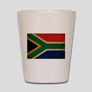South Africa Flag Shot Glass