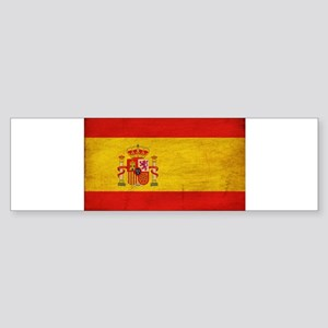 Spain Flag Sticker (Bumper)