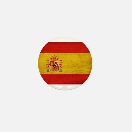 Spain Flag Mini Button