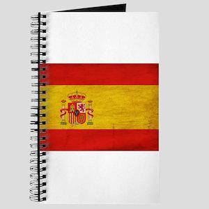 Spain Flag Journal