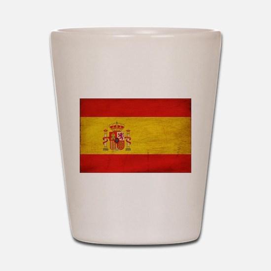 Spain Flag Shot Glass