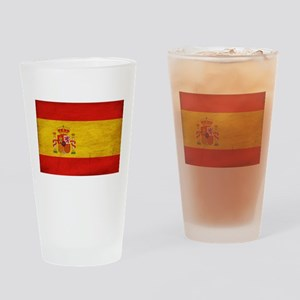 Spain Flag Drinking Glass