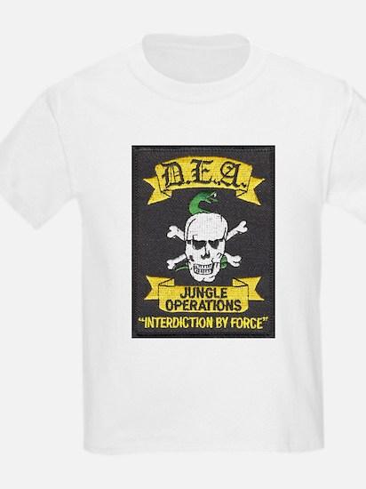 DEA Jungle Ops Kids T-Shirt