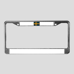 Sweden Flag License Plate Frame