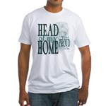 Head of my Home (Green) Fitted T-Shirt