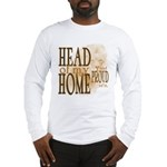 Head of my Home (Brown) Long Sleeve T-Shirt