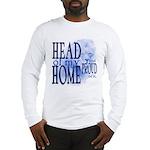 Head of my Home (Blue) Long Sleeve T-Shirt
