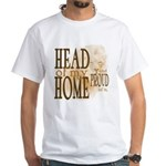 Head of my Home (Brown) White T-Shirt