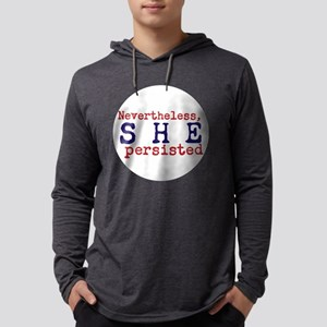 Nevertheless, she persisted Mens Hooded Shirt