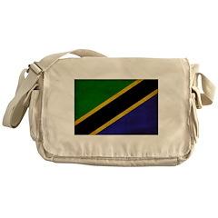 Tanzania Flag Messenger Bag