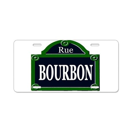 Paris Style Street Signs Aluminum License Plate