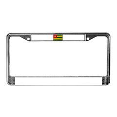 Togo Flag License Plate Frame
